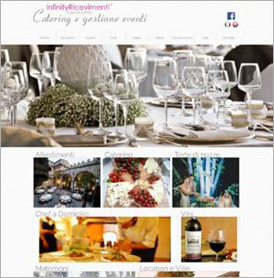 Crea sito web per ristorante for Crea il tuo sito web personale