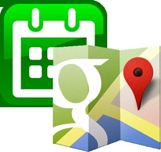 informazioni geografiche per ogni evento