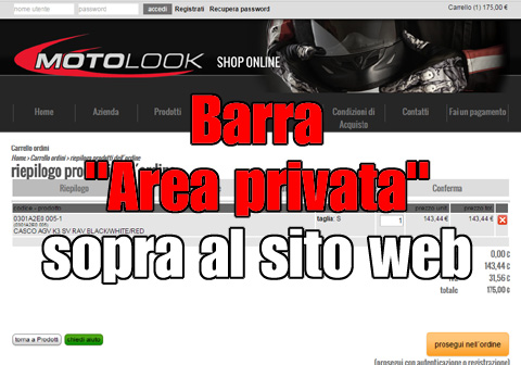 barra area privata alta