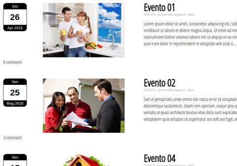 calendario nel modulo event 1