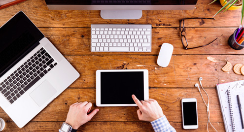 caratteristica sito web adattivo per smartphone e tablet e-commerce pellami