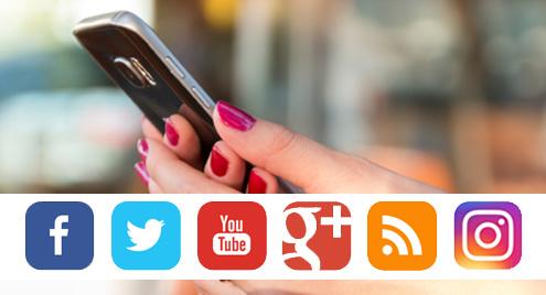 caratteristica sito web per magazzino materiali edili, condivisioni social