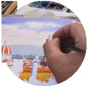crea sito per pittore