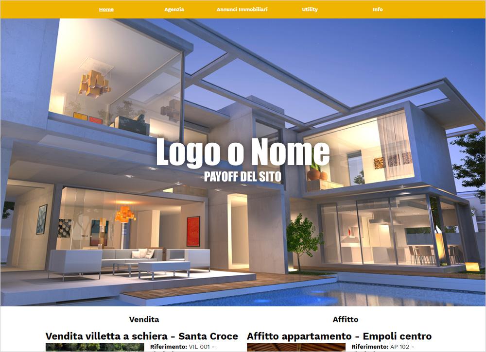crea sito web per agenzia immobiliare
