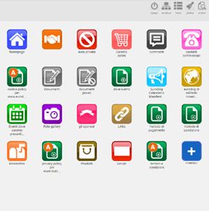 crea sito web azienda di servizi inserisci i contenuti1
