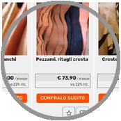 crea sito web catalogo prodotti e-commerce pellami