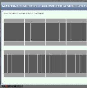 crea sito web modellismo modifica la struttura