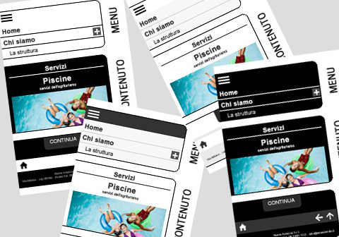 crea sito web nuove colorazioni per la visualizzazione mobile
