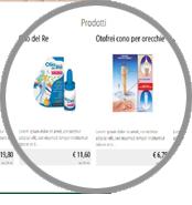 crea sito web per erboristeria catalogo prodotti completo scheda singolo prodotto eventuale prezzo