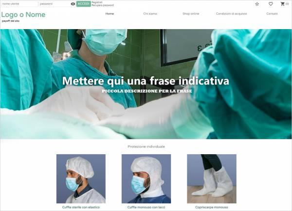 crea sito web per vendita prodotti paramedici img