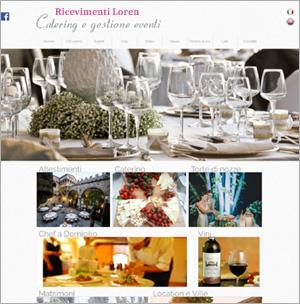 sito web per vigilanza visualizza il sito web online