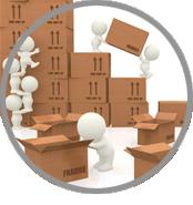 crea sito web per magazzino materiali edili, gestisci le quantità di magazzino