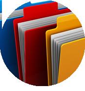 modulo documenti divisibile in categorie che permette di pubblicare un numero illimitato di documenti allegati e di scaricarli direttamente online