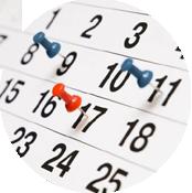 elenco degli eventi a cui parteciperemo
