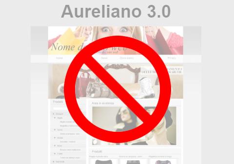 Lo stile Aureliano è andato in pensione!