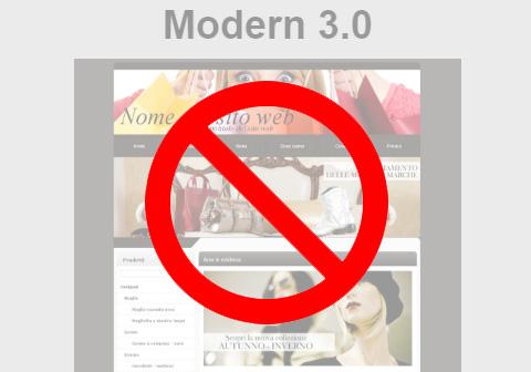 Lo stile Modern è andato in pensione!