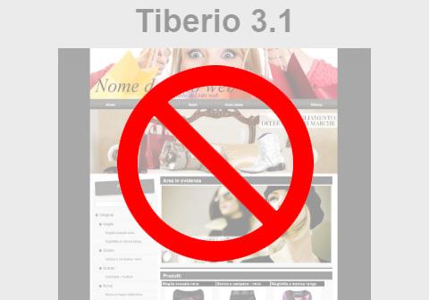Lo stile Tiberio è andato in pensione!
