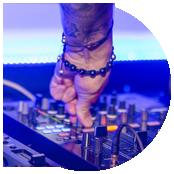 chi sono, pagina dedicata sito web per deejay