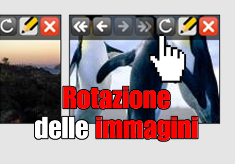 rotazione immagini