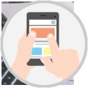 scheda dedicata per ogni servizio, sito per personaggio