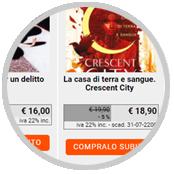 crea sito web per libreria, catalogo con scheda e prezzo di ciascun prodotto in vendita