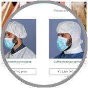 vetrine dedicate per prodotti paramedici, vendita online