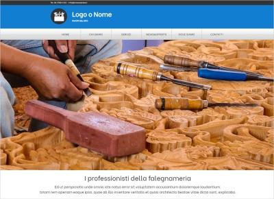 crea sito web per artigiano img