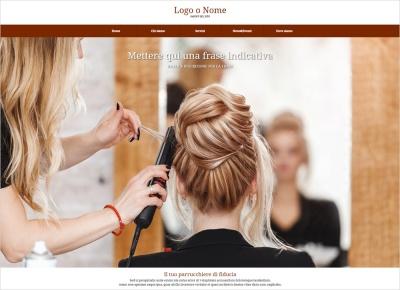 crea sito web per parrucchiera img