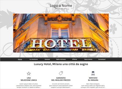 crea sito web per albergo img