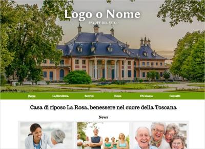 crea sito web per casa di riposo img