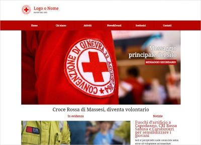 crea sito web per croce rossa