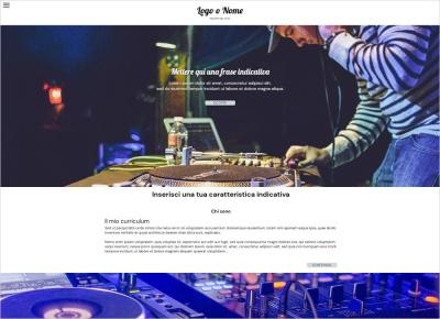 crea sito web per deejay img