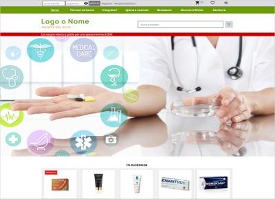 crea sito web per farmacia