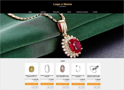crea sito web per gioielleria