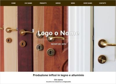 crea sito web per infissi e serramenti