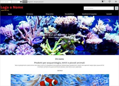 crea sito web per negozio animali esotici