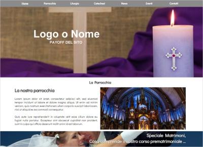 crea sito web per parrocchia