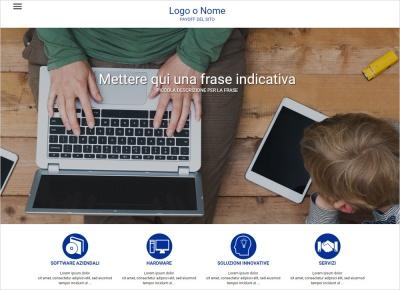 crea sito web per azienda di servizi img