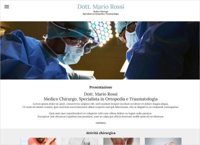 crea sito web per studio medico e dottore specialista