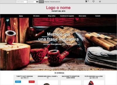 crea sito web per tabacchi
