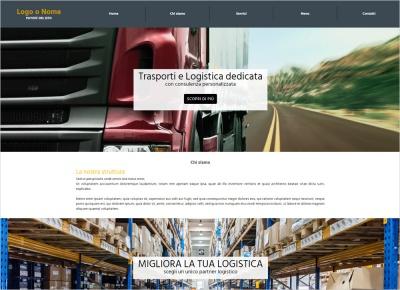 crea sito web per trasporti e logistica img