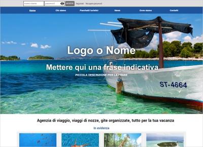 crea sito web per agenzia turistica