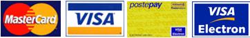 carte di credito accettate sito web